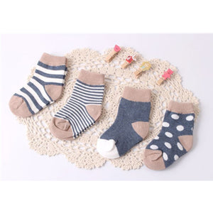Design Sock Set (4 Pairs) Socks - Small Fry Supply