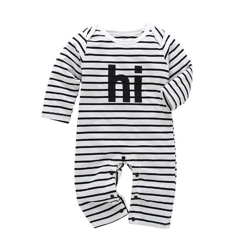 Hi onesie Romper - Small Fry Supply