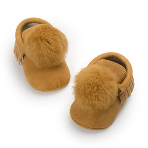 Pom Pom Moccs shoes - Small Fry Supply