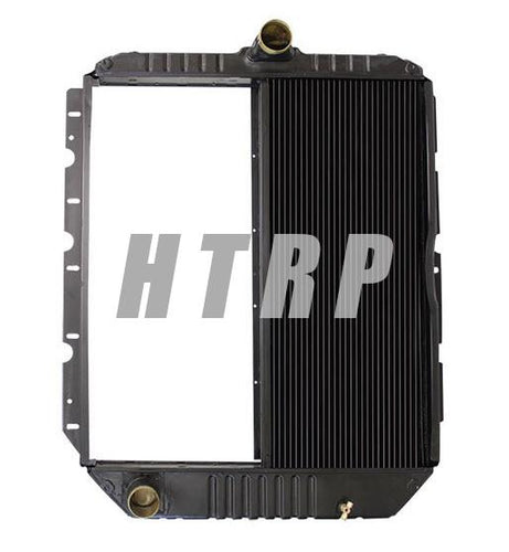 HT245522  - International / Navistar Radiator Fits the 4400 and 7300 series with a cooler on the grill side.