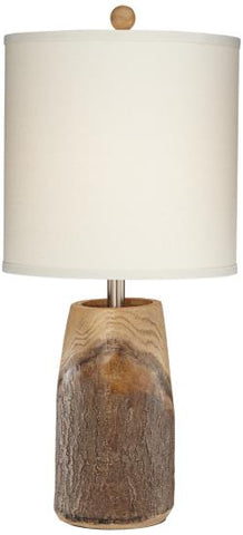 Tara Oak Table Lamp