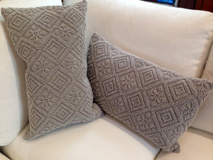 Pearl Grey Toss Cushion