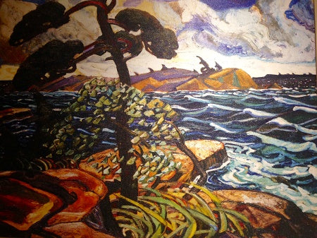 September Gale by Arthur Lismer