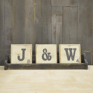 Scrabble Letter Trays
