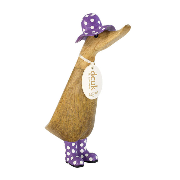 "Duckling 9"" - Spotty Hat"