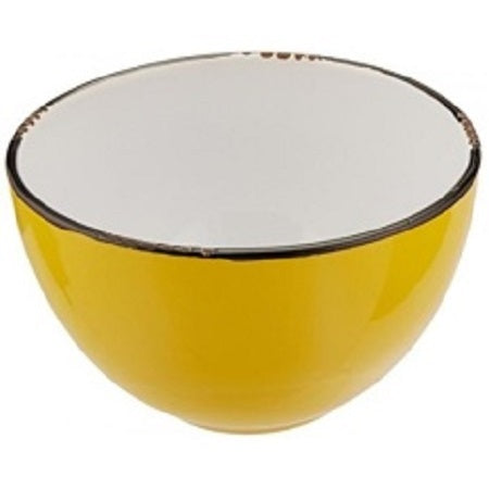 Enamel Look Bowl - Yellow