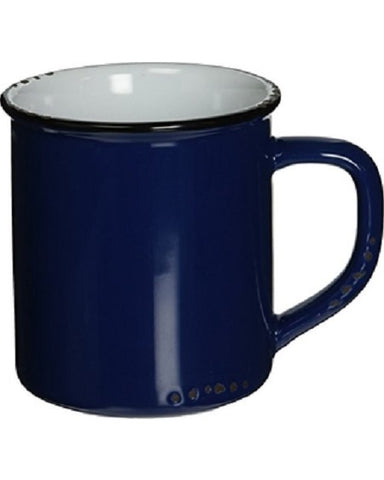 Enamel Look Mug - Navy