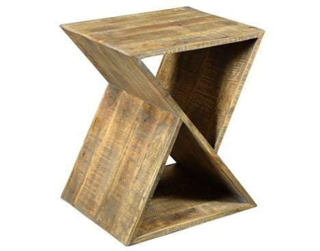 Modern Angled Side Table
