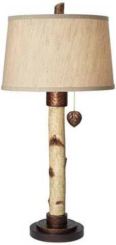 Bronze Birch Table Lamp