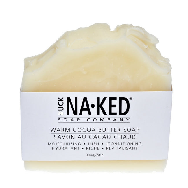 Warm Cocoa Butter Soap - Buck Naked Soap Company Inc