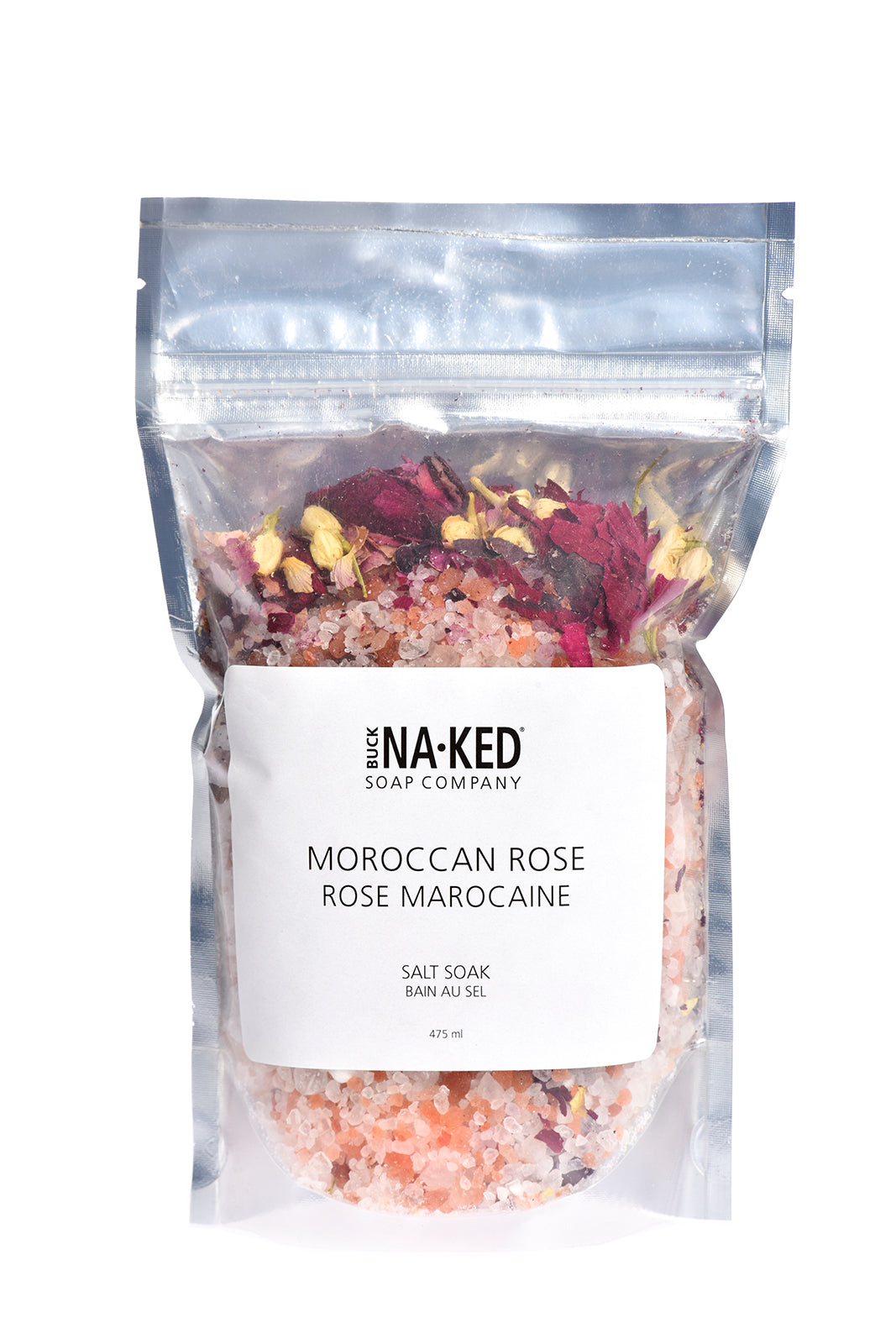 Moroccan Rose Salt Soak