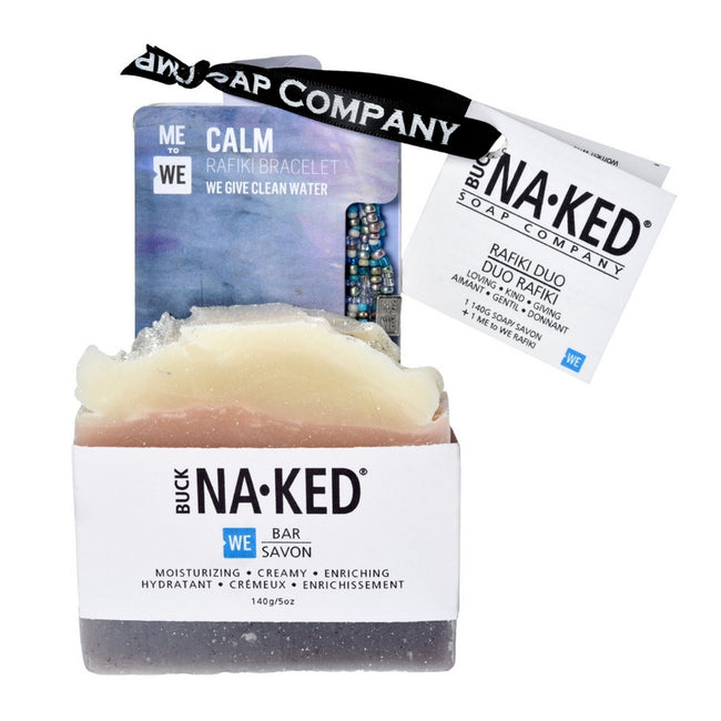 WE Rafiki Bracelet Duo - Buck Naked Soap Company Inc