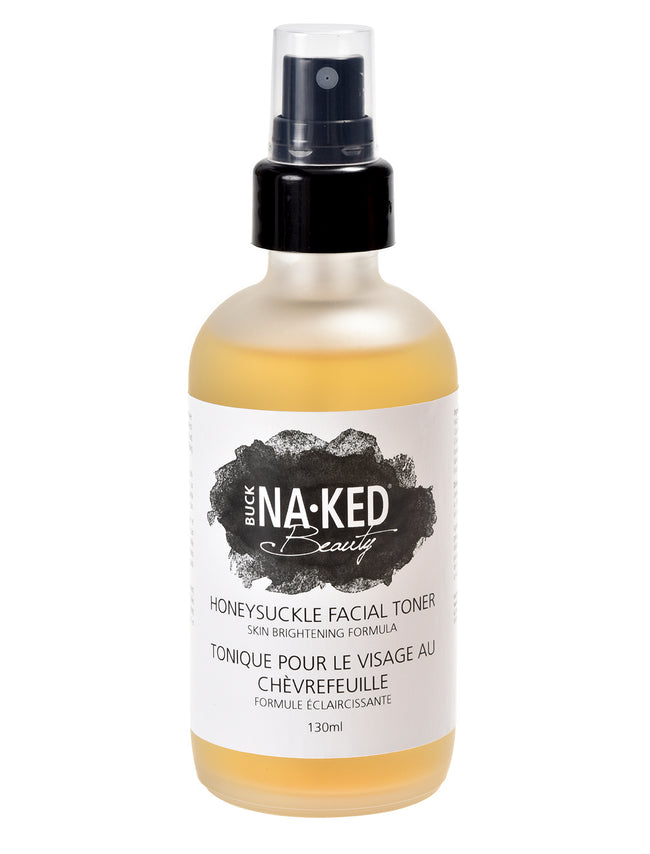 Honeysuckle Facial Toner: Skin Brightening Formula - Buck Naked Soap Company Inc