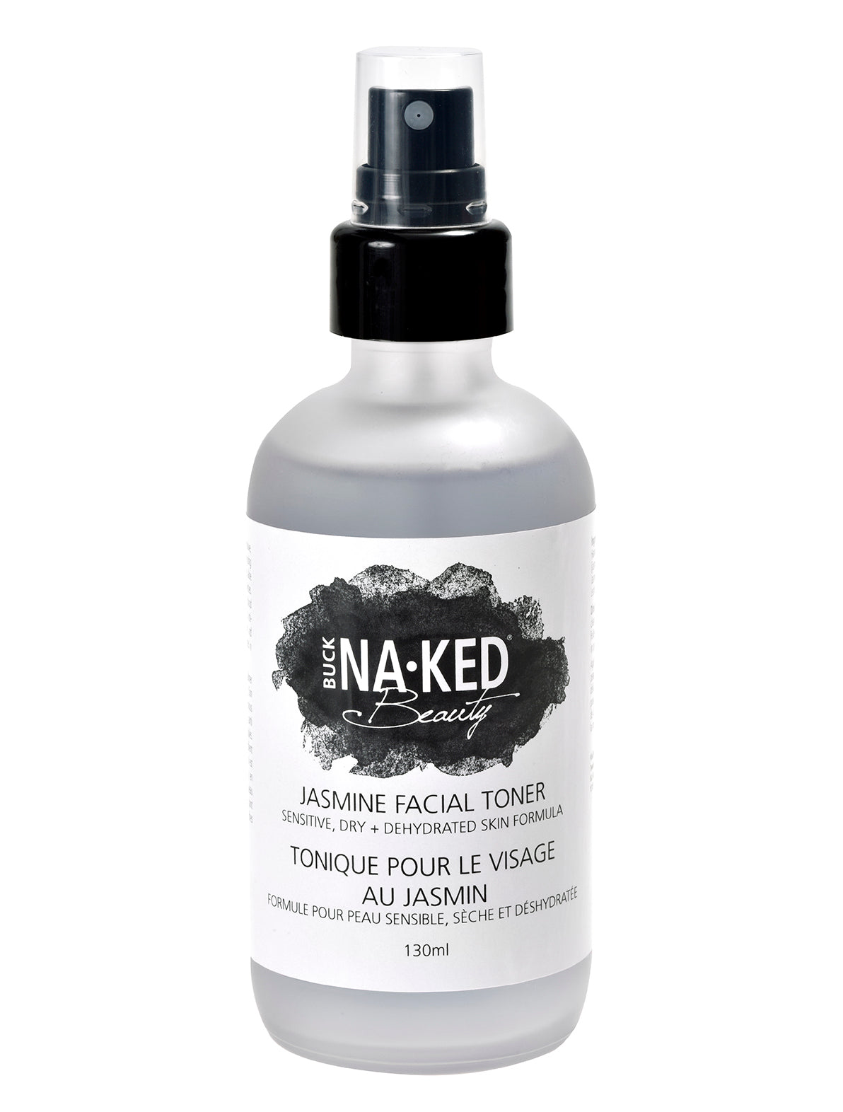 Jasmine Facial Toner: Sensitive, Dry + Dehydrated Skin Formula - Buck Naked Soap Company Inc