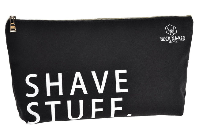 Shave Stuff Essentials Bag - Buck Naked Soap Company Inc