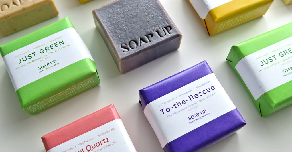 How to Choose, Store and Use SOAP UP Natural Soaps