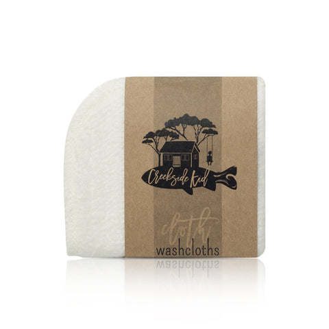 Organic Bamboo Wash Cloth