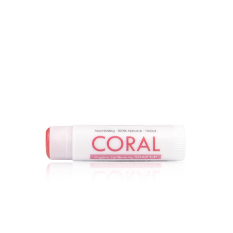 CORAL Natural Tinted Balm