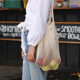Organic Unbleached Tote Bag - Long Handle