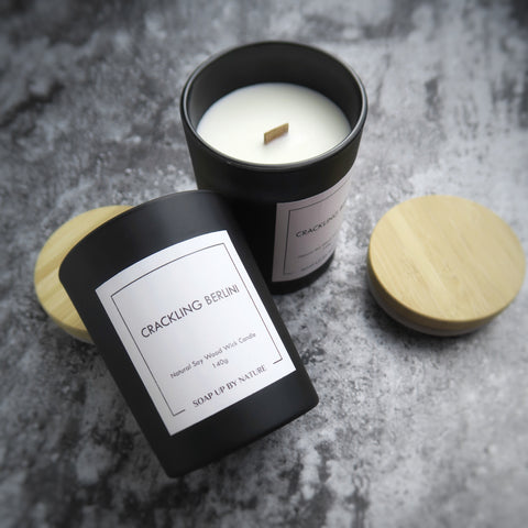 Crackling Berlini Natural Soy Candle
