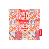 Snack'n'Go Reusable Snack Bag - Patchwork Orange
