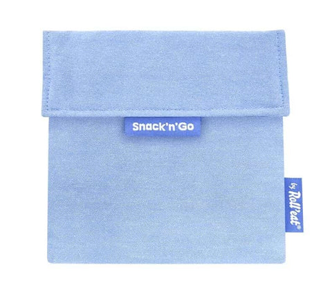 Snack'n'Go Reusable Snack Bag - Blue