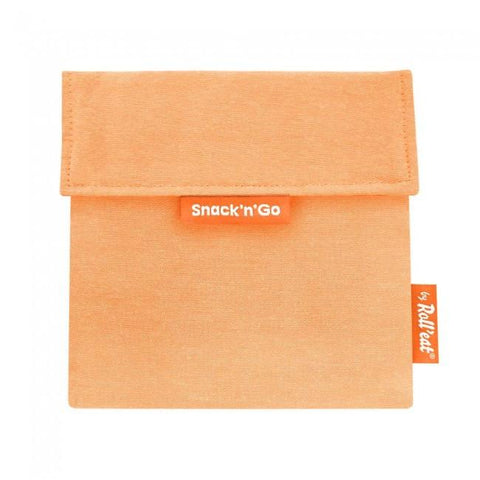 Snack'n'Go Reusable Snack Bag - Orange