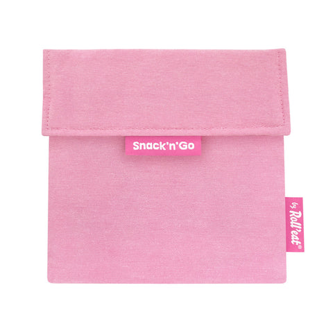Snack'n'Go Reusable Snack Bag - Pink