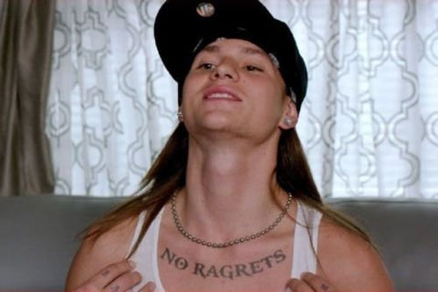 ragrets, no ragrets, no regerts regerts, regrets, no regrets,