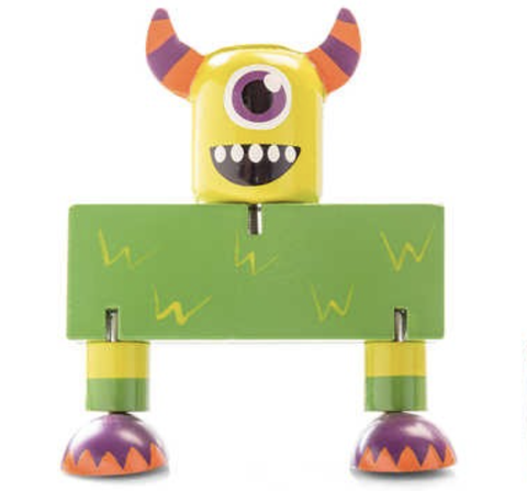 Wooden Flexi Monsters - Green