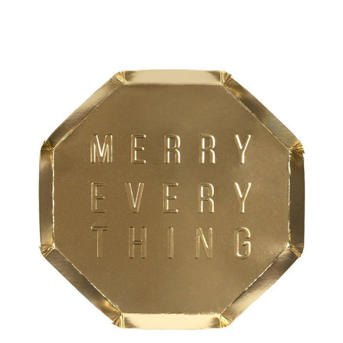 Merry Everything Side Plates