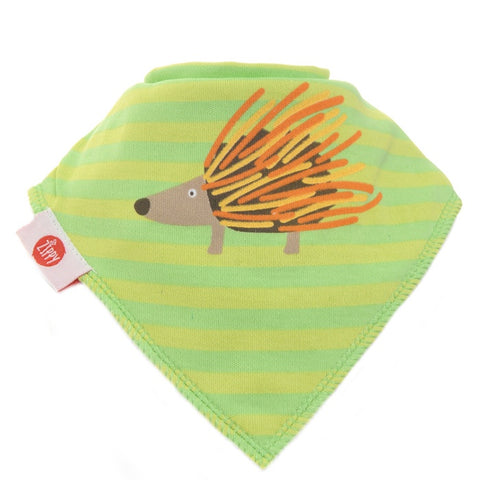 Bandana Dribble Bib -Hedgehog