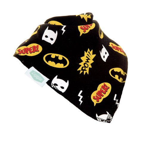 Bandana Dribble  Bib SuperHeros Black