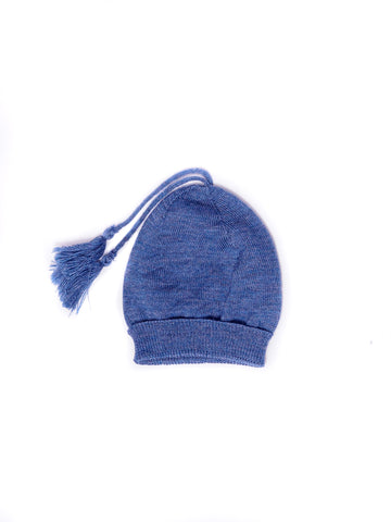 Classic Knitted Hat with Tassle