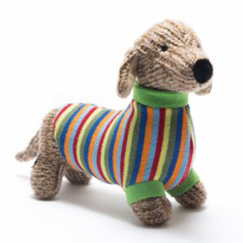 Herbert Knitted Sausage Dog