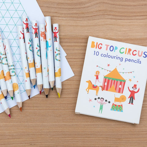 Big Top Circus Colouring Pencils