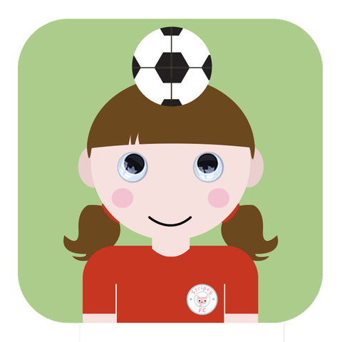 When I Grow Up -Girlie Footballer