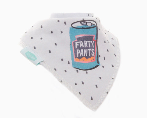 Bandana Dribble Bib - Farty Pants