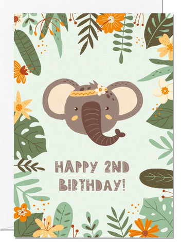Wild Child Birthday Cards