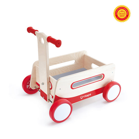 Wooden Pull Along Wagon