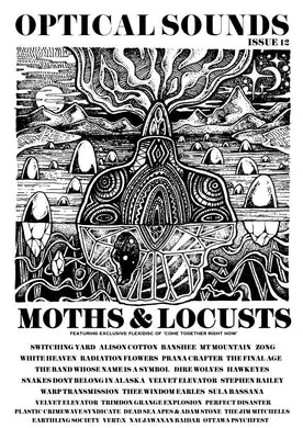 Optical Sounds #12 with Moths and Locusts Flexi. 76 Pages PDF edition also available