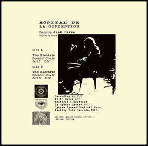 Hopital De La Conception - Electric' Rockin' Chair (Uber Ltd Vinyl) PRE-ORDER (5 LEFT)