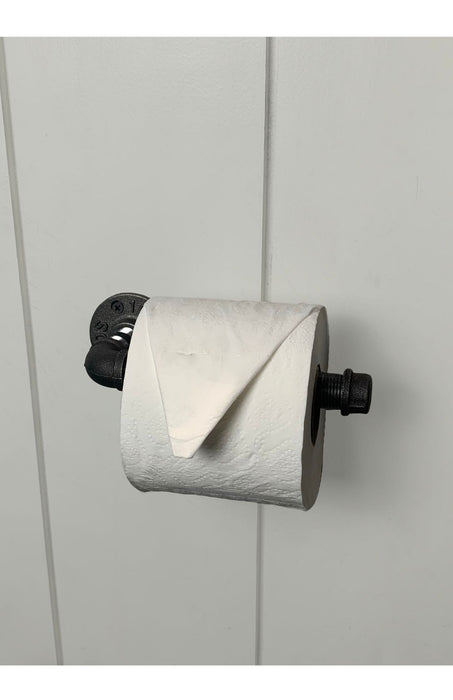 The Pipe Toilet Paper Holder