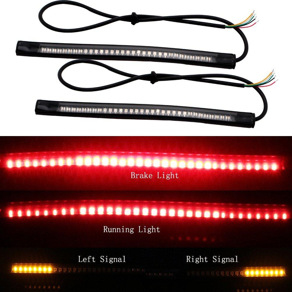 Flexible LED Motorcycle Safety Brake Light