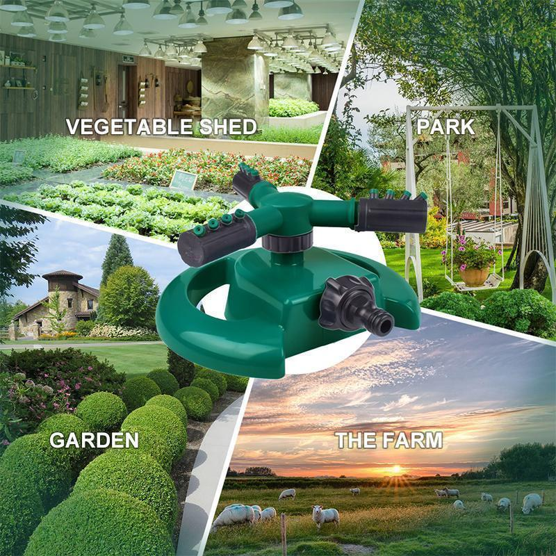 360 Degree Automatic Rotating Sprinkler