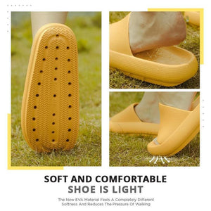 Unisex Orthopedic Quick-Drying Non-Slip Platform Slippers