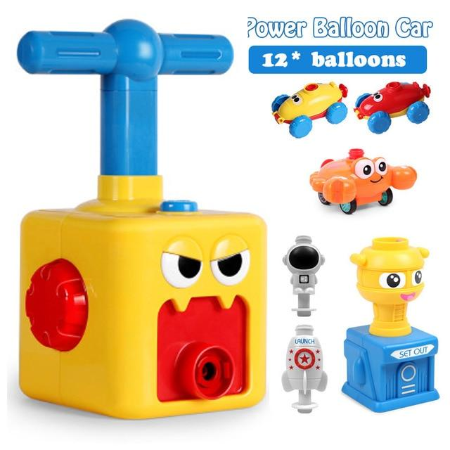 Balloon Launch Tower Car Toy