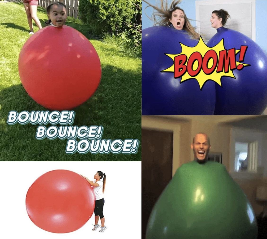 Bounce™️ Massive Giant Human Balloon