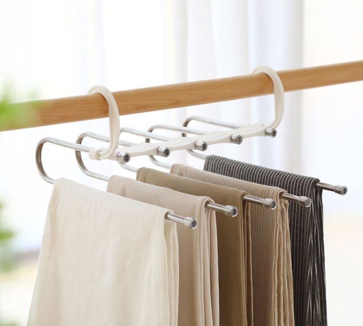 Space-Saving Hangers For Pants
