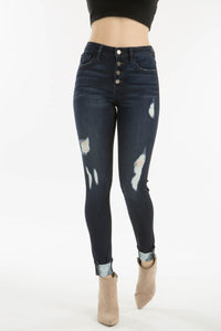 DAMION HIGH RISE ANKLE SKINNY